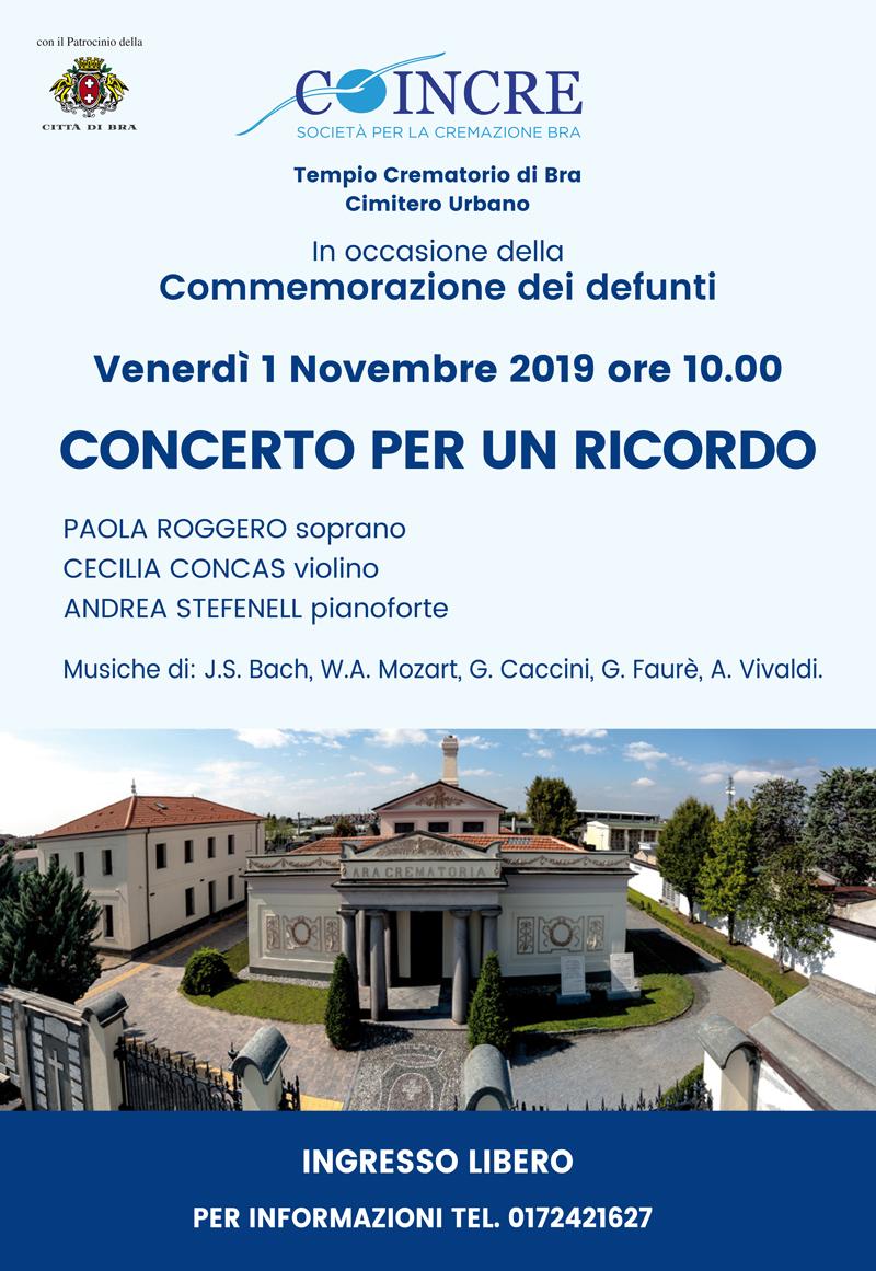 Concerto 1 novembre 2019